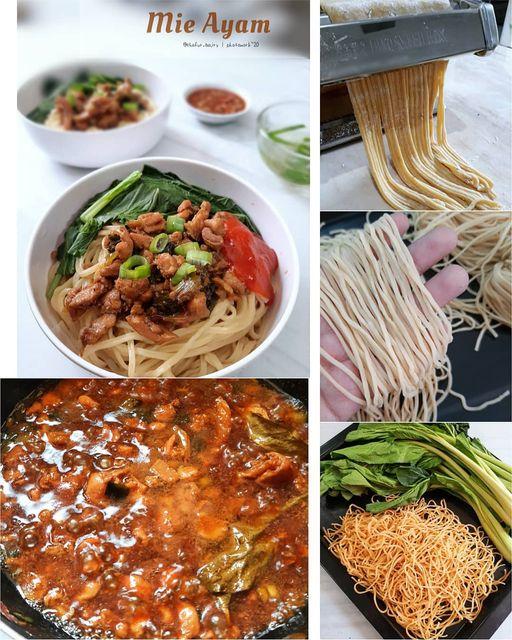 Mie Ayam Telor Homemade