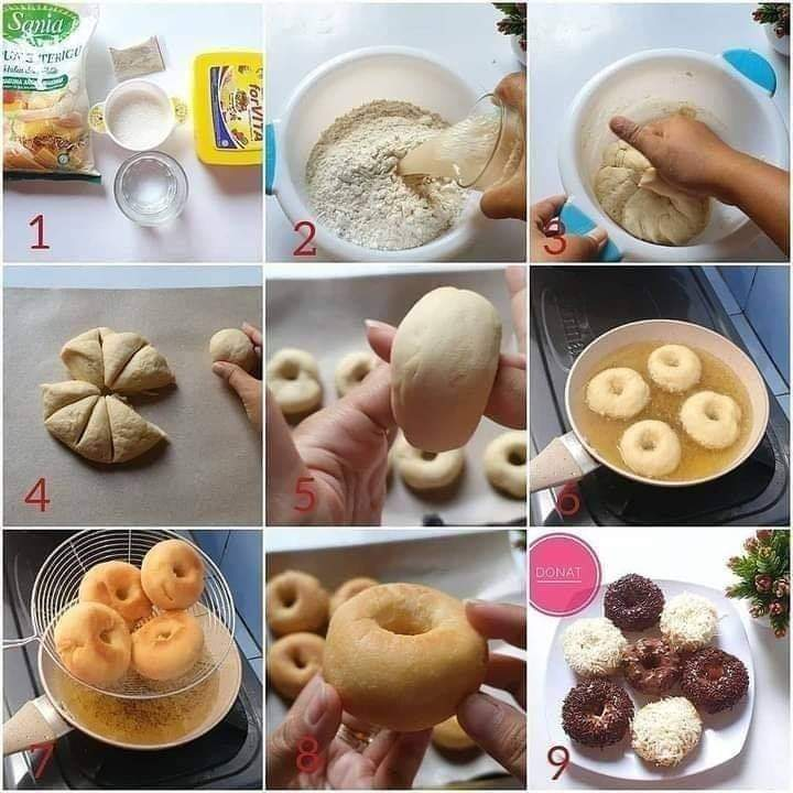 Donat Tanpa Telur