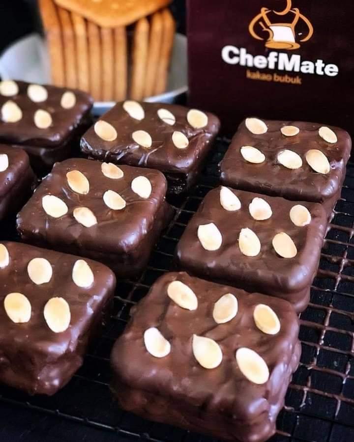 Gabin lapis cokelat
