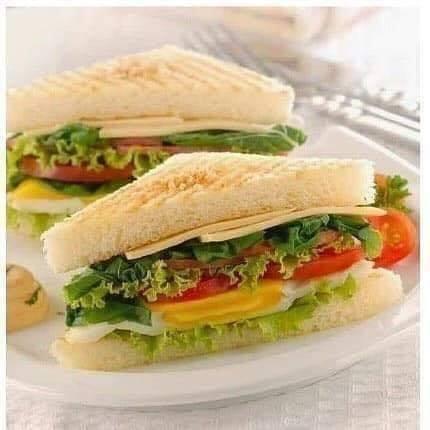 Roti Tawar Sandwich Mayonaise
