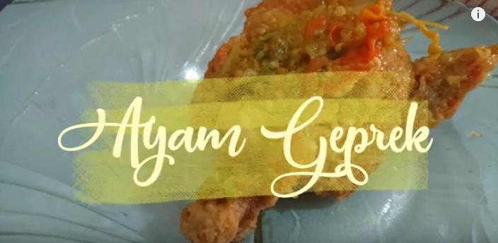 Ayam Geprek anti Gagal