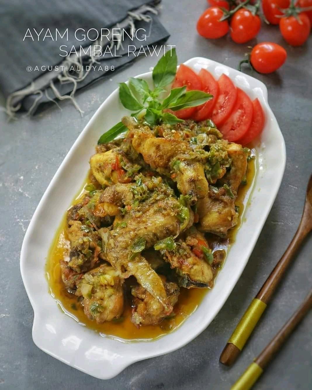Ayam Goreng Sambal Rawit