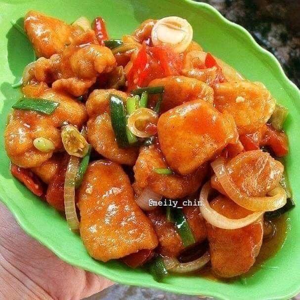 Sweet n Spicy Boneless Fried Chicken