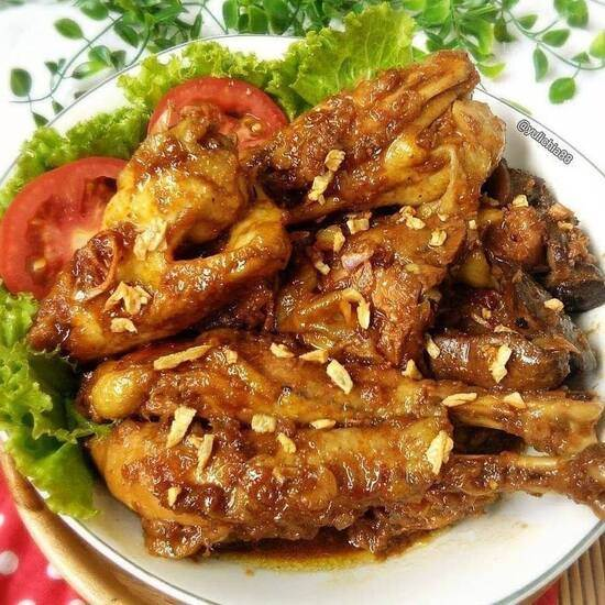 Ayam Kecap Manis Gurih