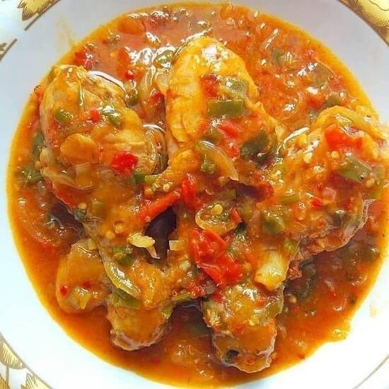 Ayam Saus Padang