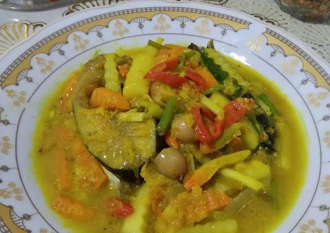 Ikan Patin Acar Kuning
